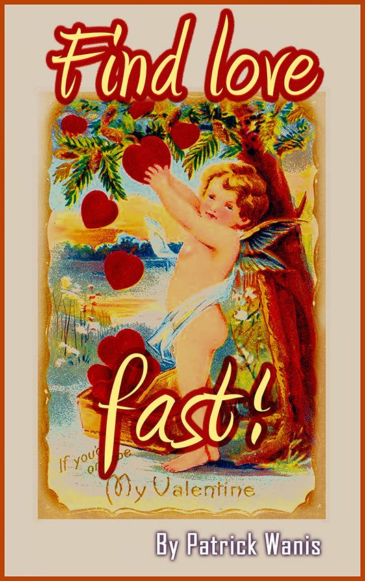 """Take the test - 5 languages of love. Click on the image for Patrick Wanis' book """"Find Love Fast"""""""