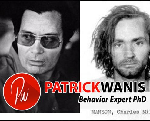 Gurus, Cults And Brainwashing - Charles Manson (right) Reverend Jim Jones (left)