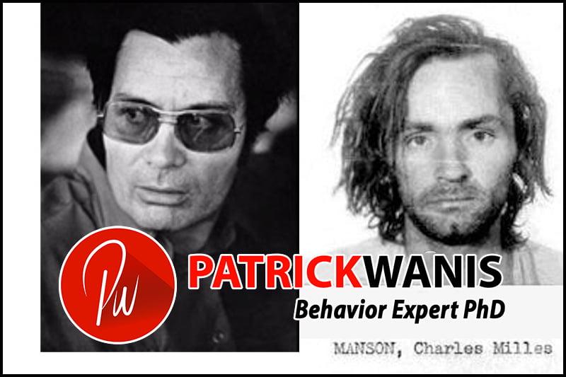 Gurus, Cults And Brainwashing - Charles Manson (right) Reverend Jim Jones (left)