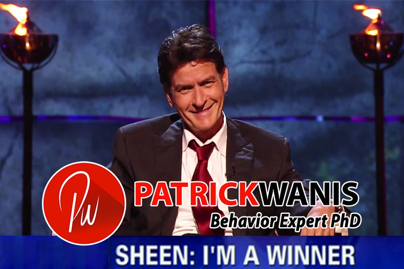 Winning or losing? The Big 5 personality traits, Sheen Im a winner