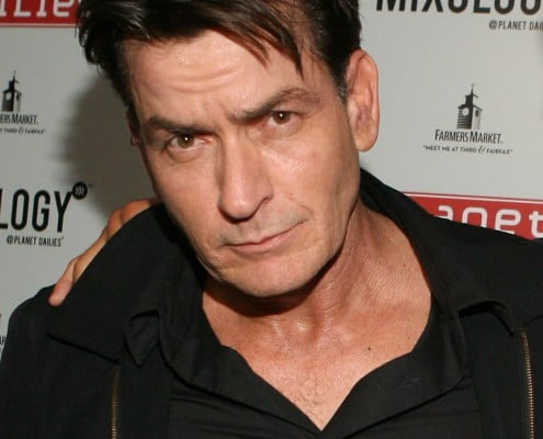 LOS ANGELES, CA - MAY 03:  Charlie Sheen attends the Anger Management Wrap Party hosted by Charlie Sheen held at Planet Dailies & Mixology 101 on May 3, 2012 in Los Angeles, California.  (Photo by Jesse Grant/WireImage)
