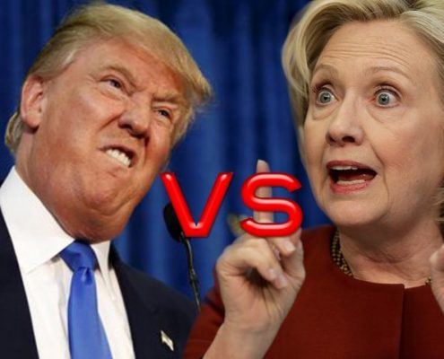 Donald Trump VS Hilary Clinton Debate - Body Language Analysis