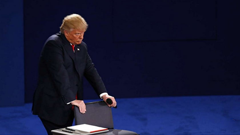 Second US Presidential Debate - Body Language Analysis - Donald Trump expresses anger, frustration and contempt