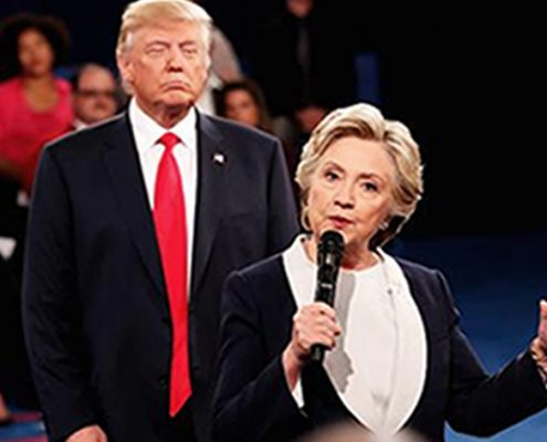 Second US Presidential Debate - Body Language Analysis - Donald Trump looms over Hilary Clinton