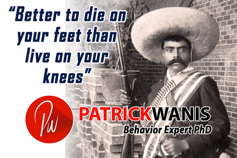 Harvey Weinstein Scandal – Die On Your Feet or Live On Your Knees Zapata