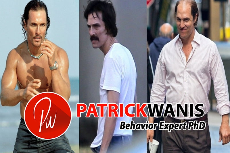 """Matthew McConaughey underwent extreme weight-loss for the movie """"The Dallas Buyers Club"""" - losing 40 pounds, he is one of many actors who have undergone extreme physical transfromations"""