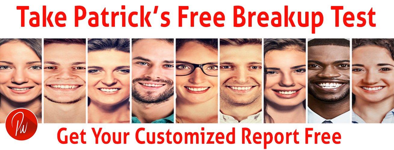 Take Free Breakup Test Now Patrick Wanis PhD